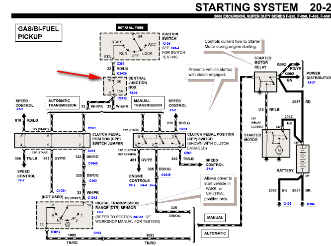 ford f 450 wiring diagram