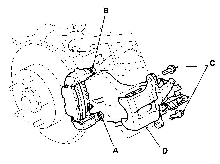 How Do I Change The Rear Disc Brakes On A 2004 Honda Accord