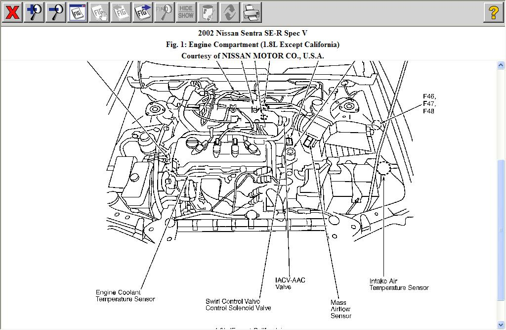 2002 nissan sentra se r spec v wiring diagram   45 wiring diagram images