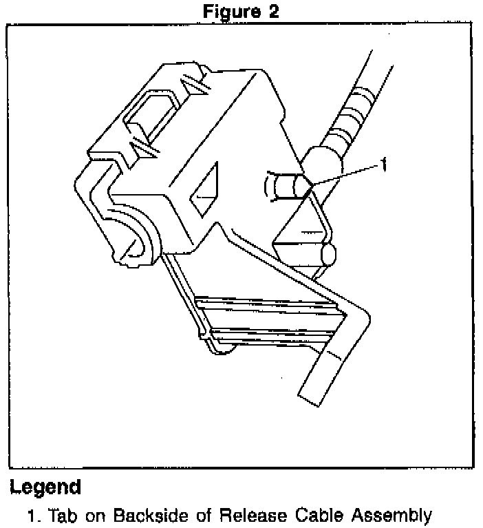I Need A Diagram Of A Trunk Lid Latch  The Key Will Turn