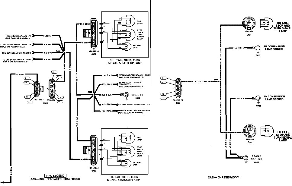 Graphic: 1990 Chevy 1500 Wiring Diagram At Executivepassage.co