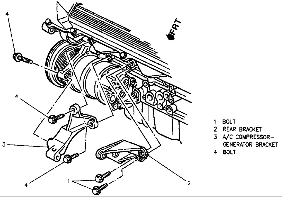 1996 cadillac deville alternator wiring diagram