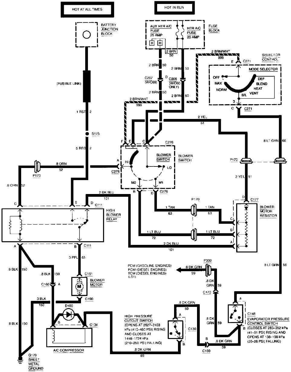 i am having a problem with my a  c  i do not think it is the compressor but more of a wiring