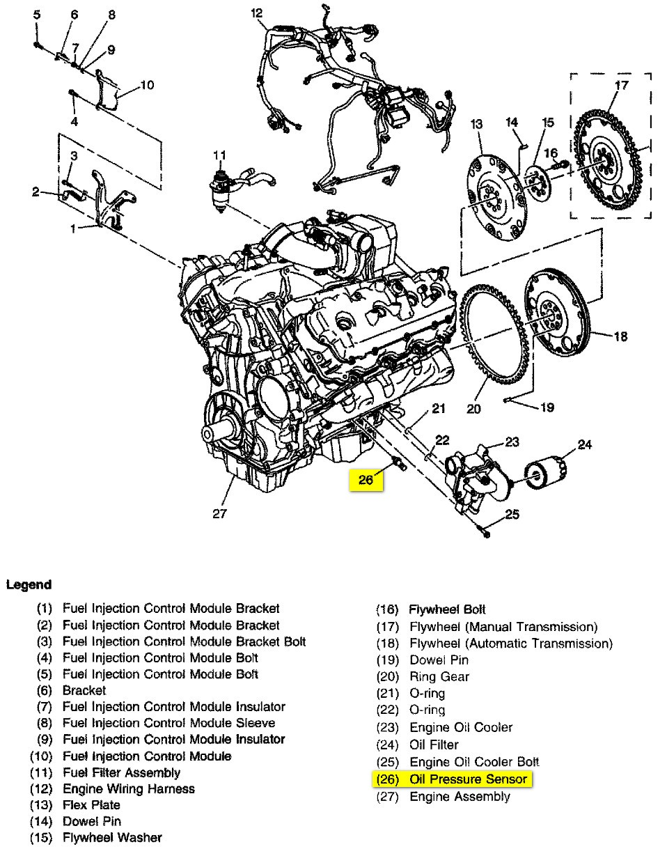 Engine Diagram 6 0 2500 Chevy Wiring Will Be A Thing 48 Internal Diagrams Repair For 2000 Chevrolet Silverado Gm 60 Liter 53