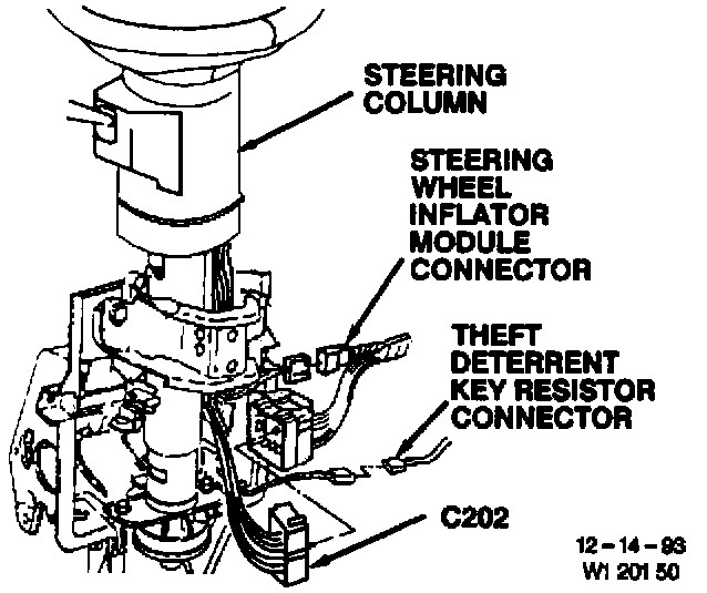 Buick Steering Column Wiring Diagram