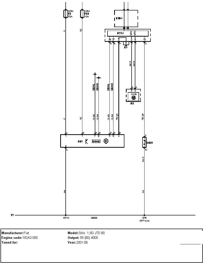 I Have Fiat Stilo 19 Diesel Jtd 2002 Reg The Problem Is Power Engine Diagram Graphic