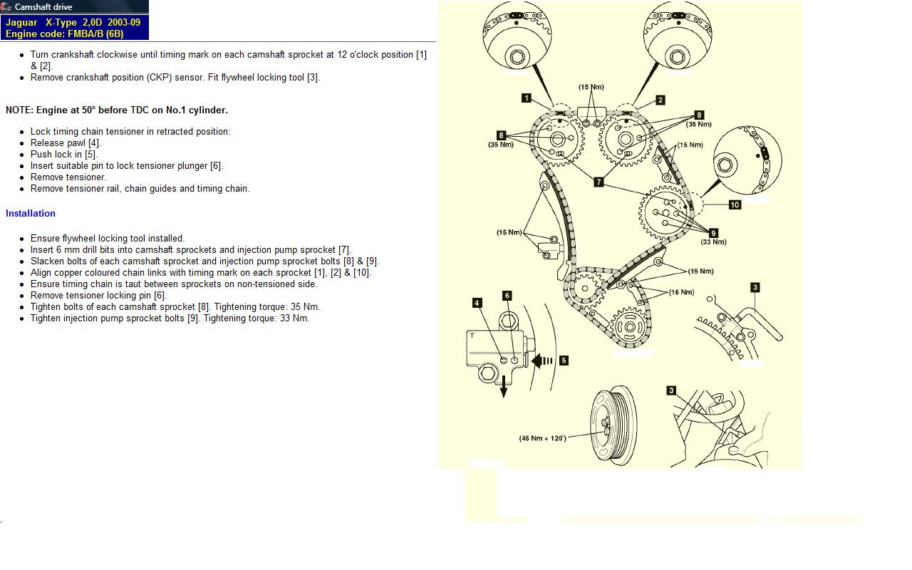 Help Please I Had A So Called Mechanic Who Is A Friend Of The Family Fit A New Timing Chain To