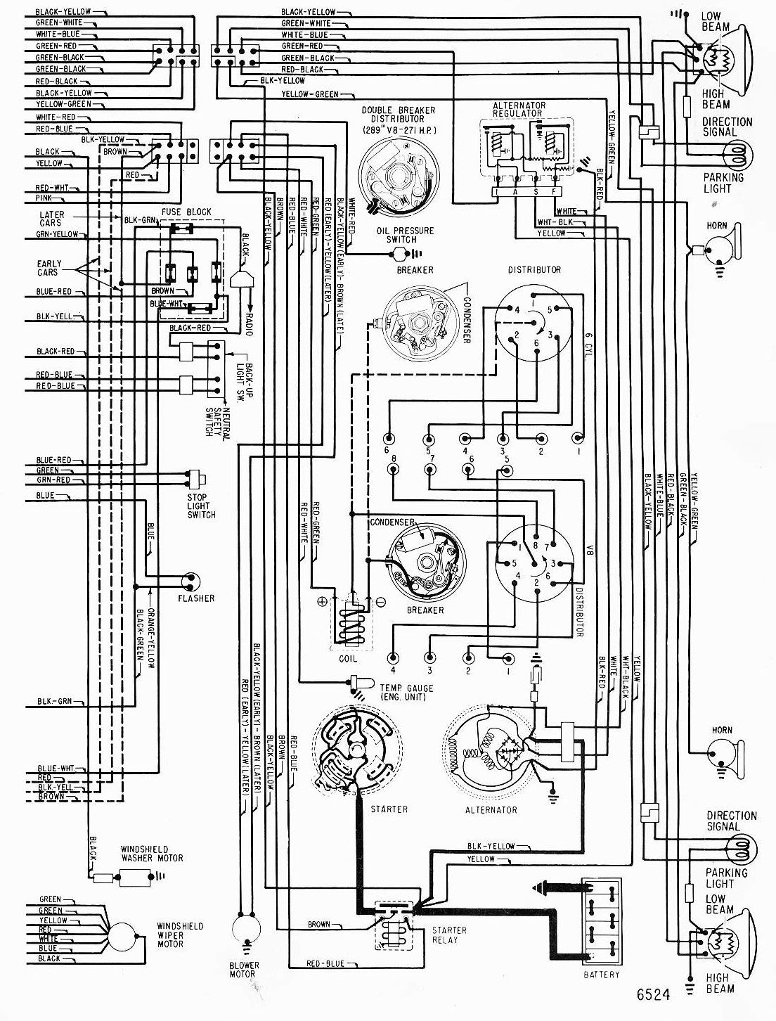 I Am Restoring A 65 Mustang And Need A Wiring Diagram For
