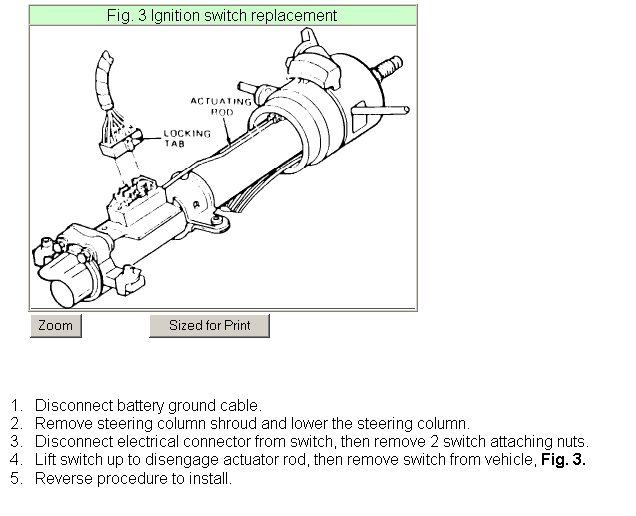 How Do I Install A New Ignition Switch On A 1983 Ford