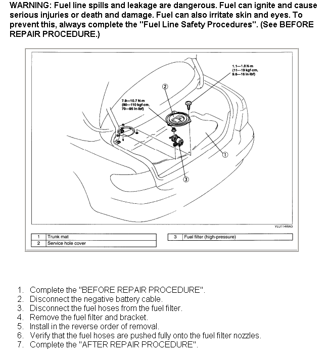 How Do I Change The Fuel Filter On A 2002 Mazda Milleniarhjustanswer: 2001 Mazda Millenia Fuel Filter At Elf-jo.com