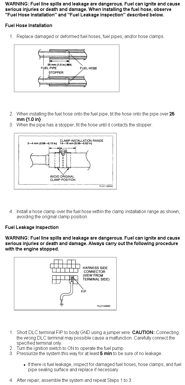 How Do I Change The Fuel Filter On A 2002 Mazda Millenia 2000 Camry Location Graphic