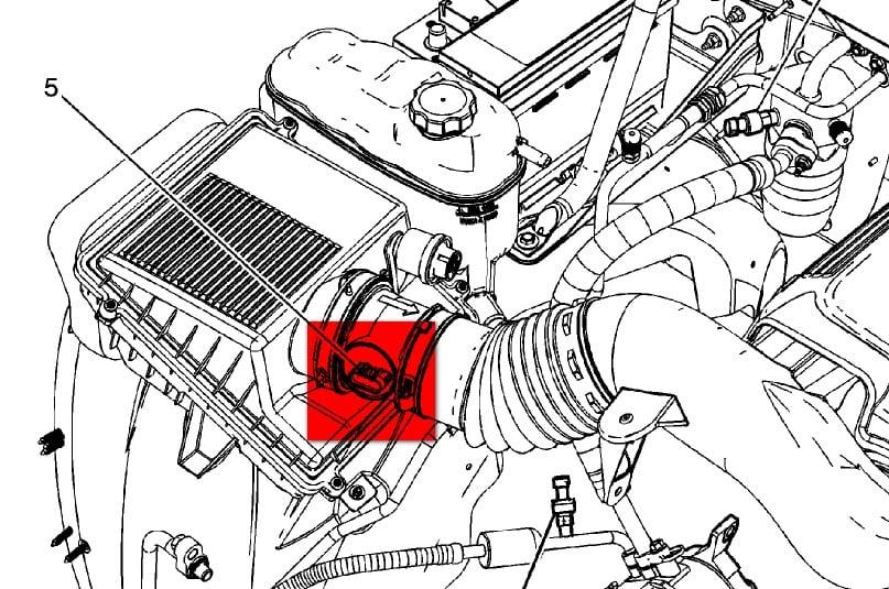 fuel sensor location gm denali