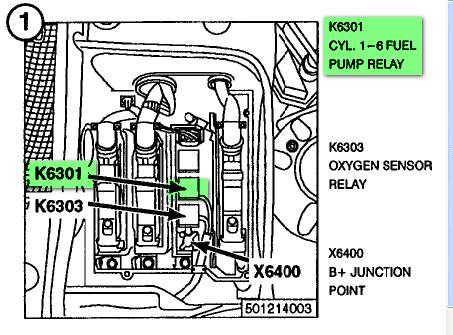 2003 Bmw 325i Fuel Pump Relay Location Thxsiempre