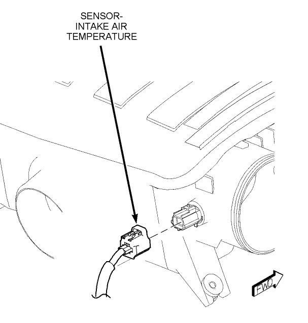 Where Is The Iat Sensor Plug Located On 2007 Dodge Ram