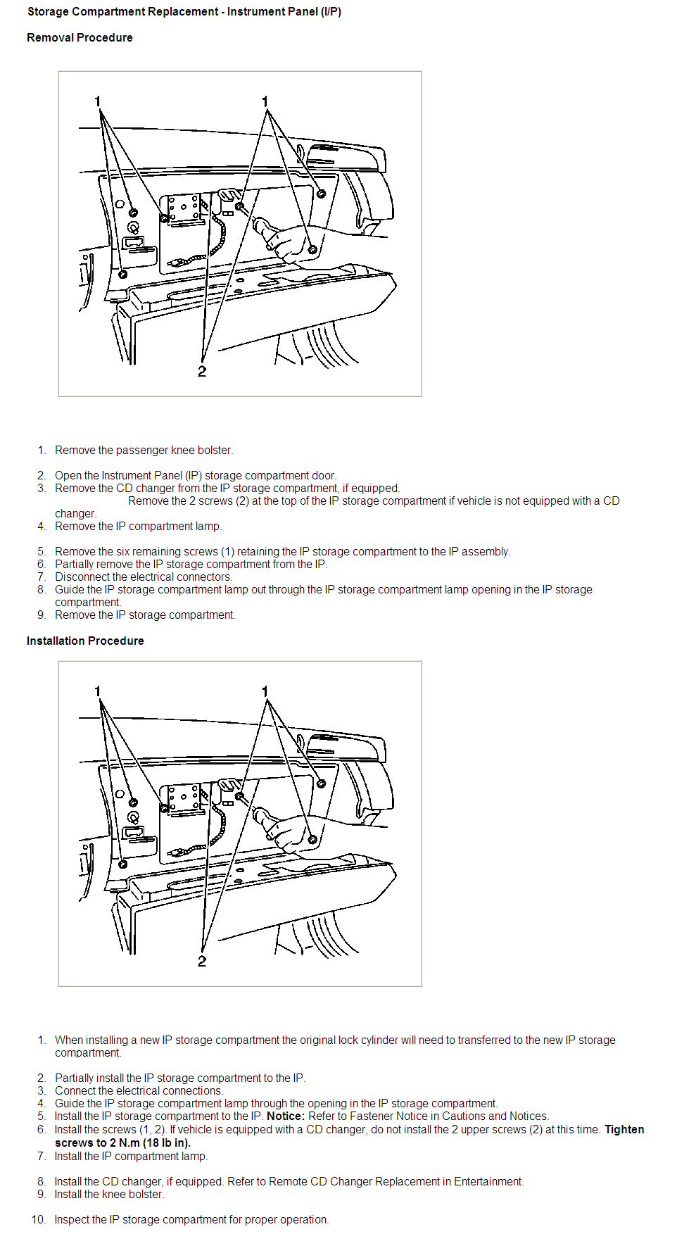 Cd Changer 2000 Deville Electrical Diagram Simple 2003 Wiring Elec How To Install In Glovebox For 2005 Cadillac And Dts