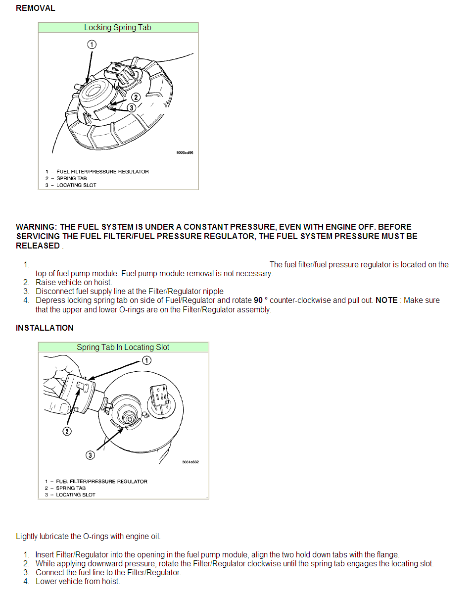 Plymouth Fuel Pressure Diagram - Wiring Diagram & Cable ... on