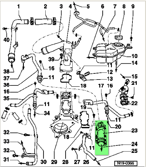 2002 Vw Passat W8 Engine Diagram