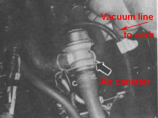 92 kaw EX-500  Need fuel & vacum routing info  Bike has 2