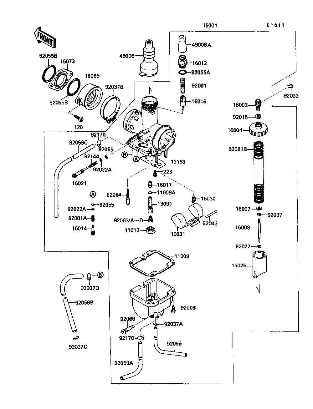 2009 05 24_190614_KLF220carb i have a bayou 250 i had the local kawasaki dealership rebuild 1988 kawasaki bayou 220 wiring diagram at gsmx.co
