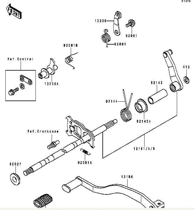 harley davidson shifter linkage diagram
