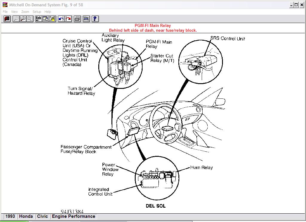 ford probe fuel pump diagram html