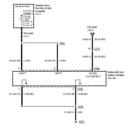 ford focu 3 wiring diagram wiring diagram 2001 Ford Windstar Fuse Location
