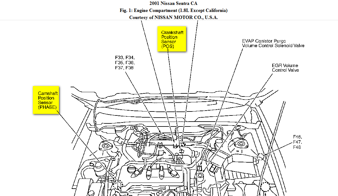 on Ford Crankshaft Sensor Location