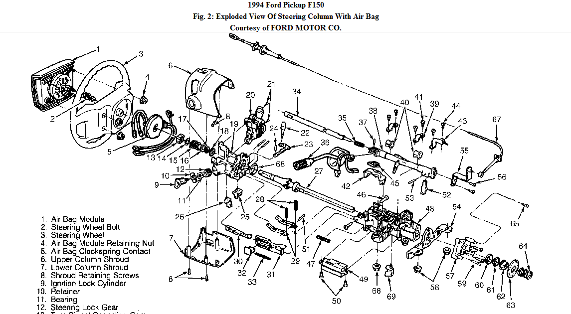 Where Can I Find A Skematic Or Diagram Of The Shift Lever And