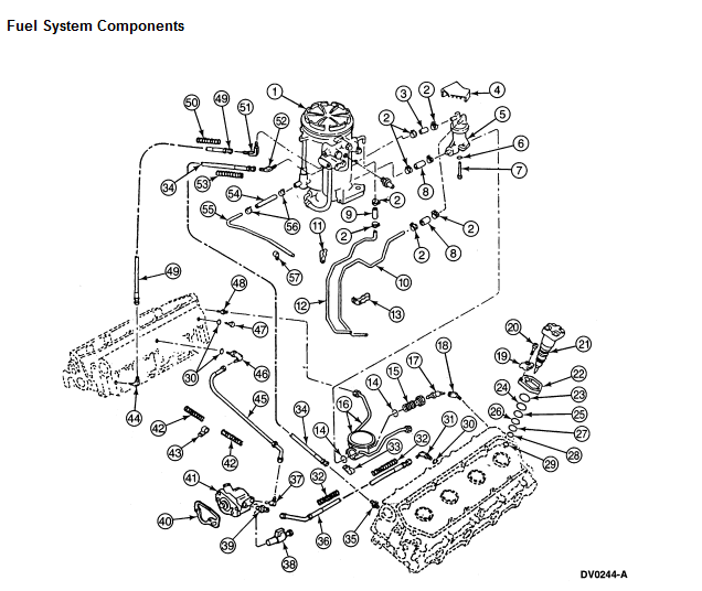 7 3 Fuel Filter Diagram Wiring Diagram Data