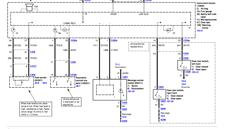 Wiring Diagram For A 2006 Ford F150 Wiring Diagram For