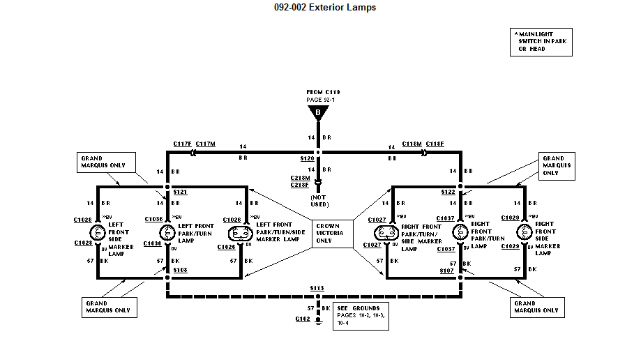 where can i find a complete wire harness diagram for my 1997 ford crown victoria