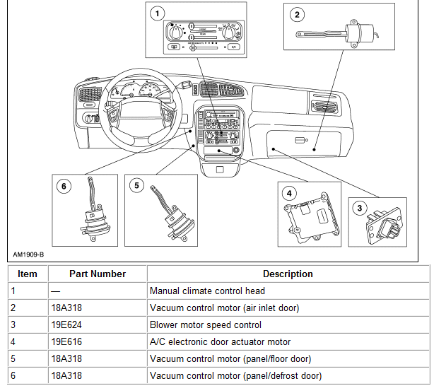 ford windstar click clack sound  audio area