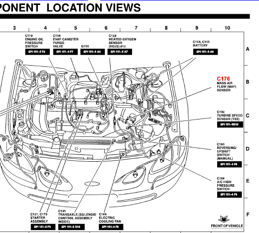 Where Is The Iat Sensor Located On A 2002 Ford Escort Zx2