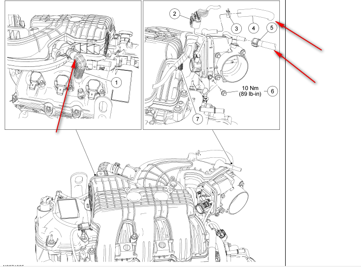 2011 ford edge engine diagram