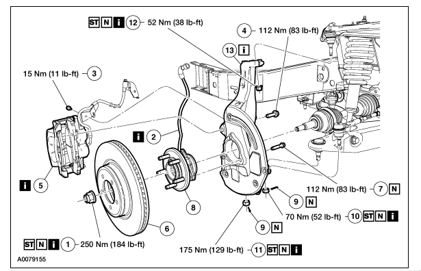 2002 fx4 front suspension diagram