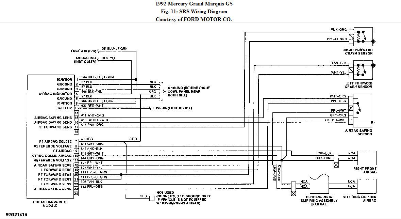 1992 grand marquis wiring diagram schematic symbols diagram. Black Bedroom Furniture Sets. Home Design Ideas