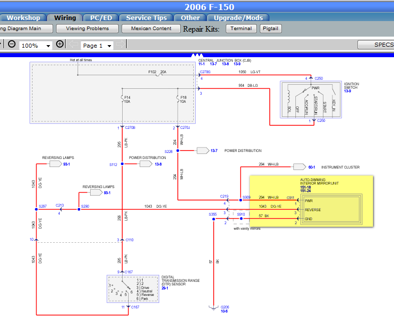 I Need To Know The Ford F Wiring Diagram