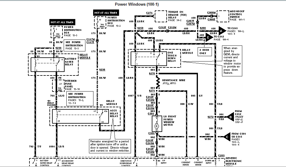 2003 mercury mountaineer wiring diagram