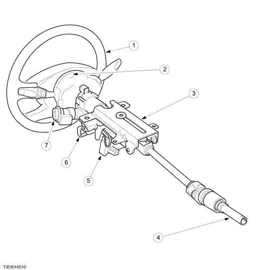 focus steering column diagram   29 wiring diagram images
