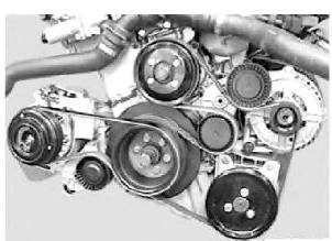 what is the serpentine belt routing for a 2002 325i bmw 2006 Mazda 6 Belt Diagram graphic