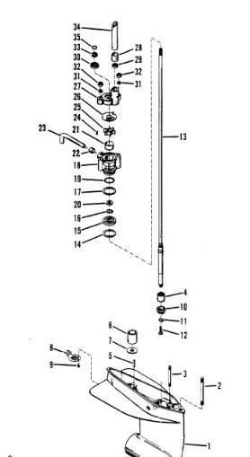 How Do I Change A Waterpump On A 9 8 Hp Mercury Motor 1985