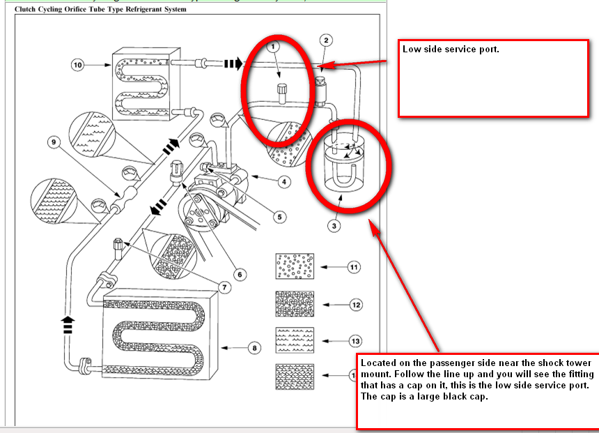 2004 Ford Freestar A Can Of R134a Into My Air Conditioning Systemrhjustanswer: 2005 Ford Freestar A C Clutch Wiring Diagram At Gmaili.net