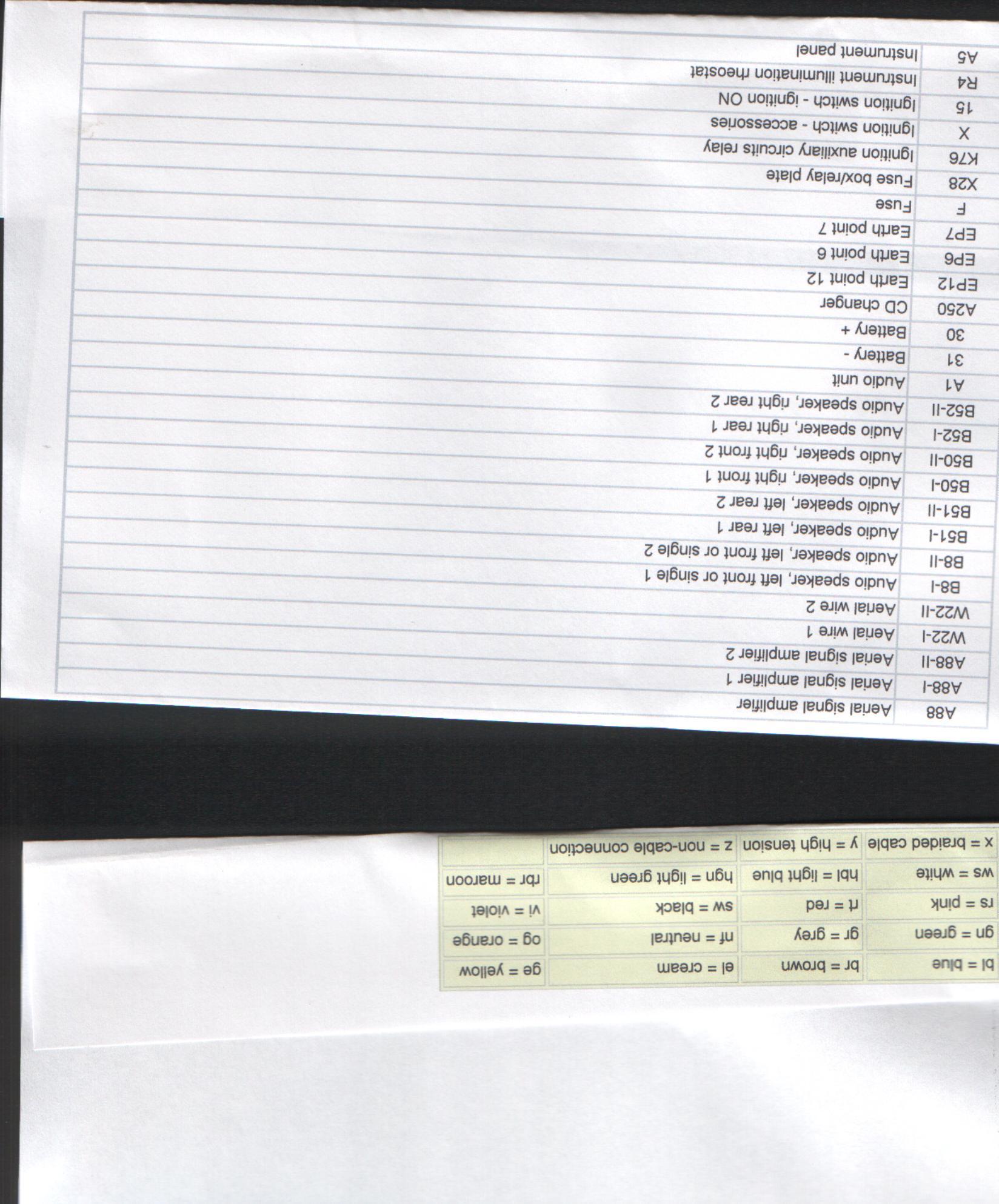 Needing A Speaker Wiring Diagram For 1998 Volvo S70 4dr