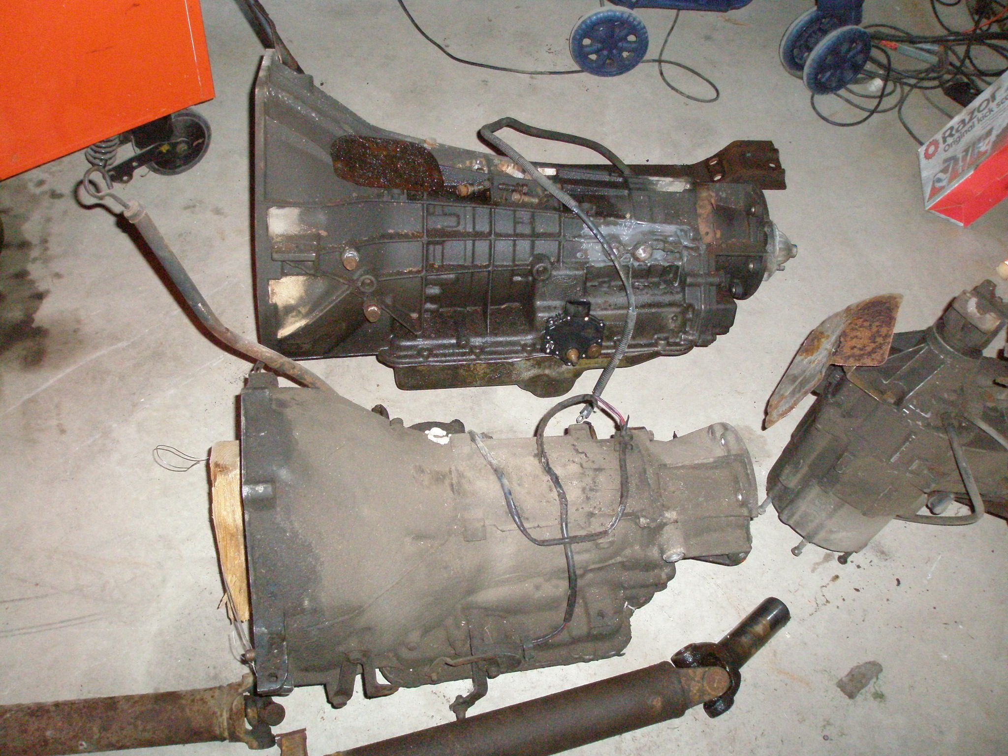 Can I swap a E4OD transmission with a C6 I don't need OD ...