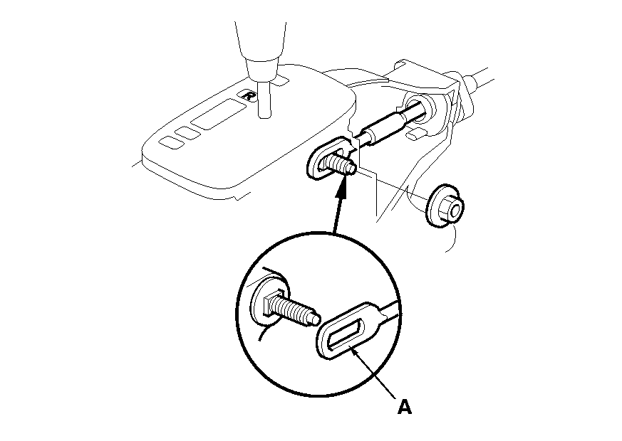 How Do I Remove The Shift Control Cable From A 1998 Honda Accord Lx