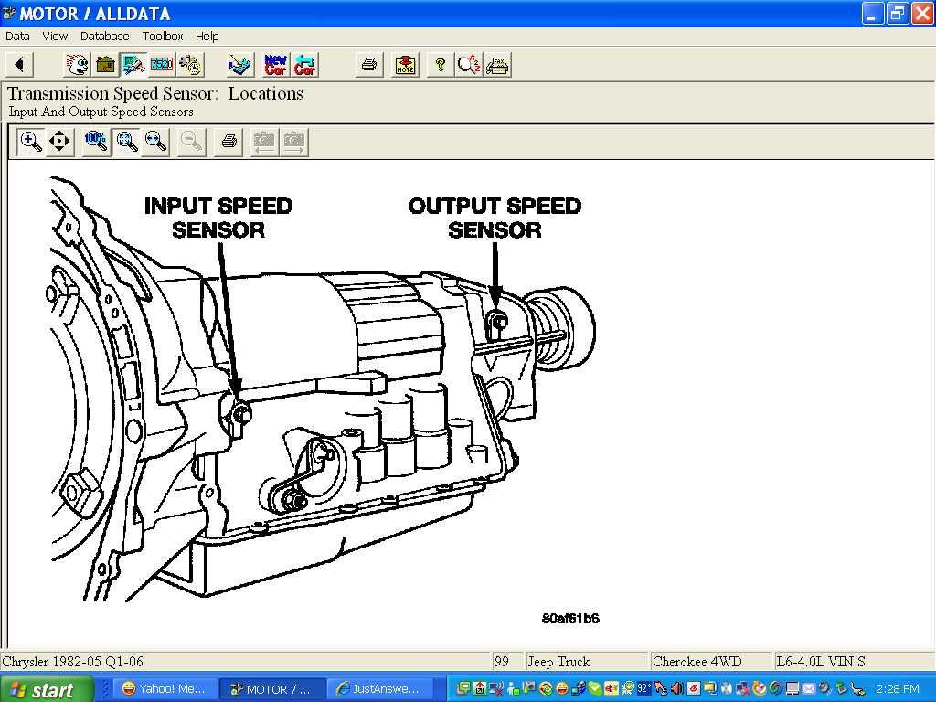 1999 Jeep Grand Cherokee Error Code P0720