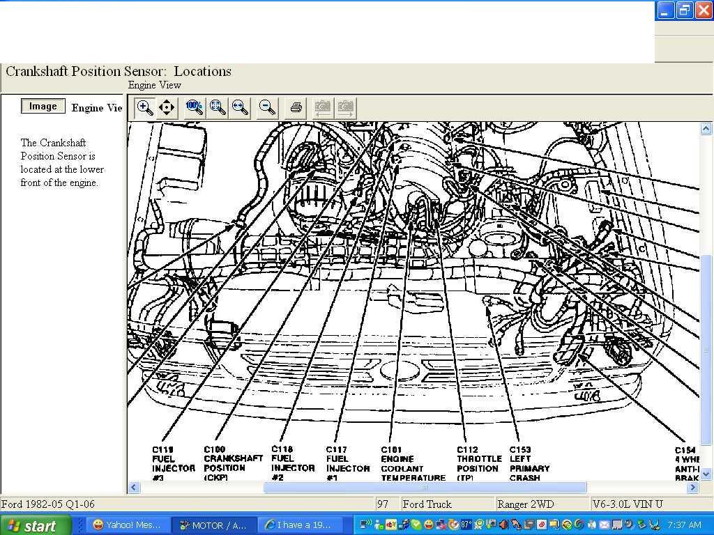 1997 Ford Ranger  The Check Engine Light  Code Reader