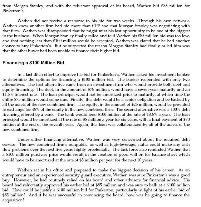 pinkerton case study