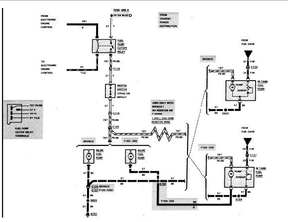 I Need The Electrical Wiring Diagram For A 1985 Ford Ranger I Am Not Getting Any Voltage To The