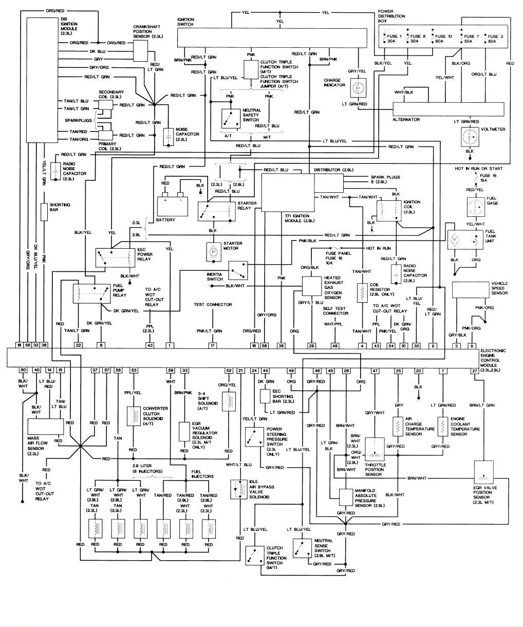 Wiring Diagram On 91 Ranger